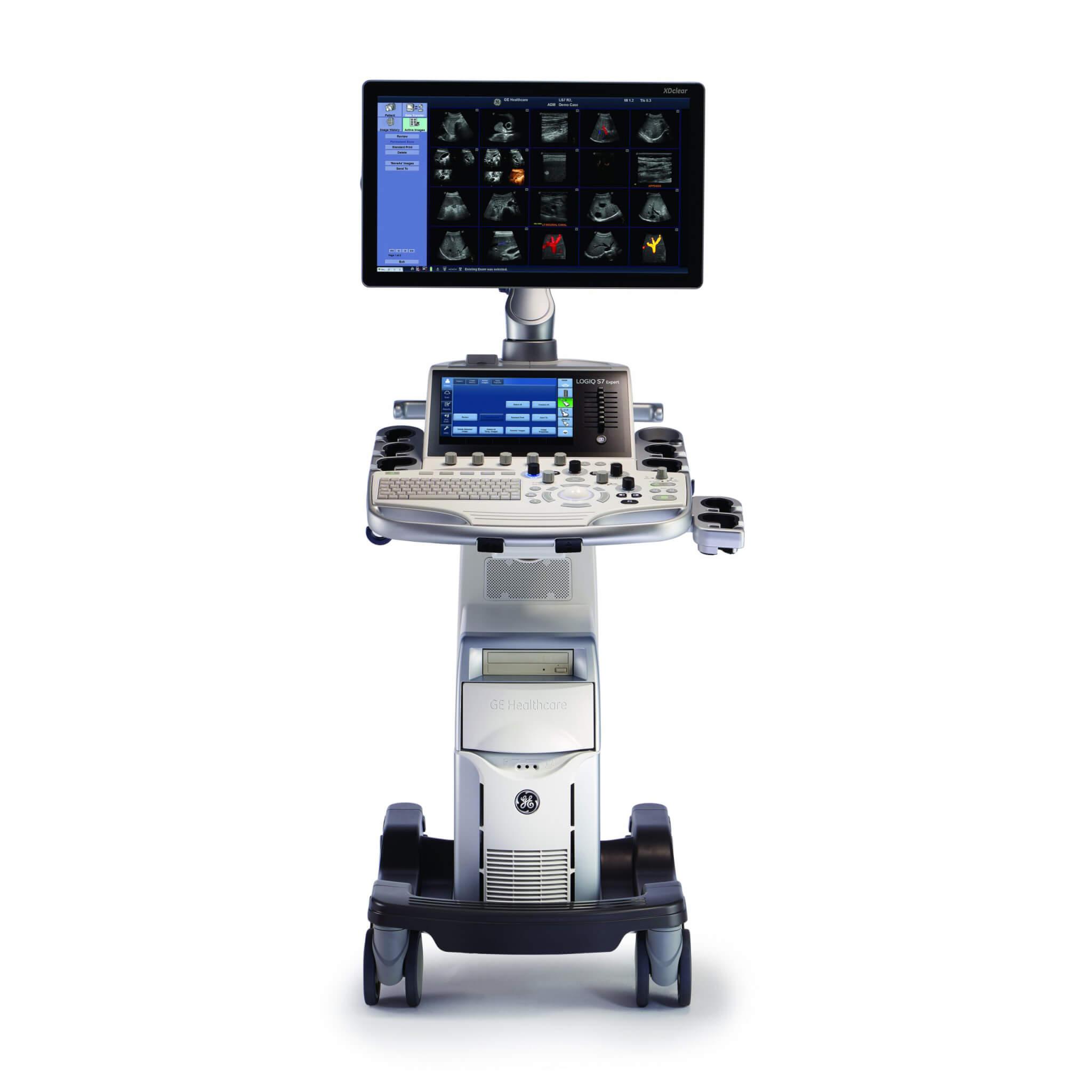Сканер для УЗИ экспертного класса GE Logiq S7